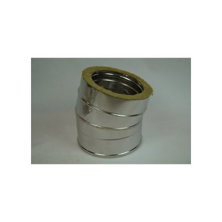 Skorstenrörsböj 5° Ø180-230mm