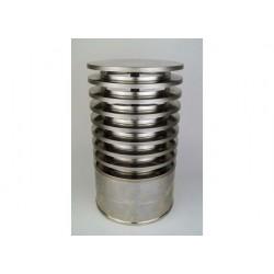 Regnhuv med vindskydd (isolerad), diameter Ø180/225