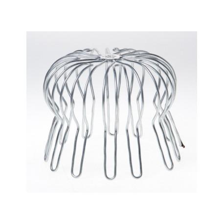Rundtrådsgaller galvaniserad Ø80mm / Ø90mm / Ø100mm