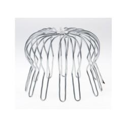 Rundtrådsgaller i rostfritt stål Ø250mm