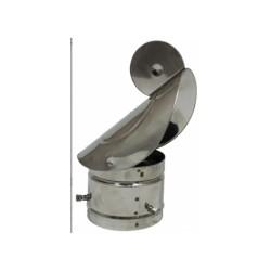 Huva Ø80mm- Ø130mm