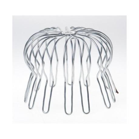 Rundtrådsgaller i rostfritt stål Ø110/120/130mm.