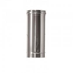 Enkelväggigt rökrör Ø220mm L: 500mm
