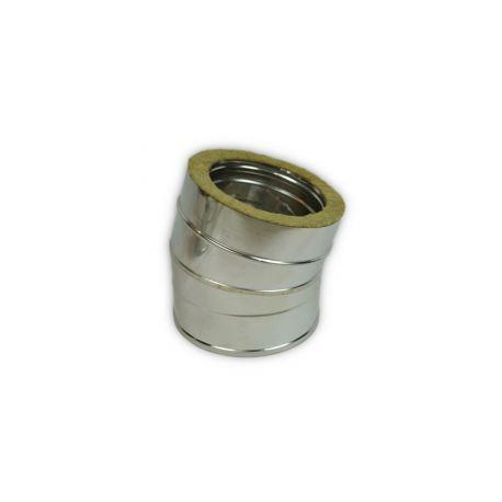 Rökrörsböj 5° Ø130-180mm.